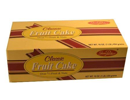 Jane Parker Classic Light Fruit Cake 16 Ounce (Classic Fruitcake)