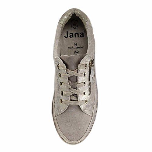 Jana Damen 23706 Sneaker Kombi Beige wfqwr0TS