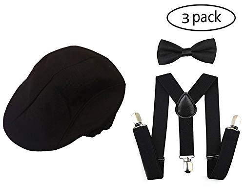 1920s Set Fedora Gangster Hat Costume Accessory Y-Back