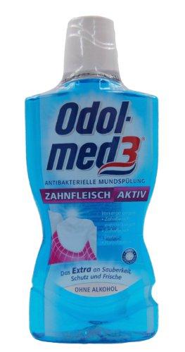 Odol-med 3 Zahnfleisch aktiv antibakterielle Mundspülung, 500 ml