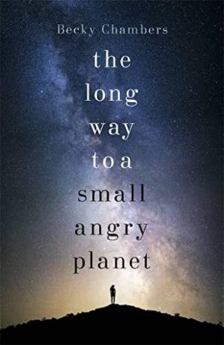 book cover of The Long Way to a Small, Angry Planet