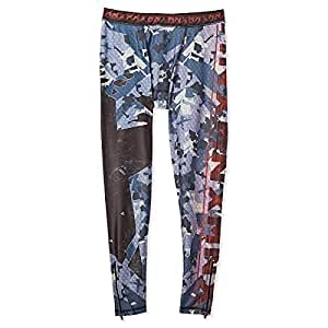 MNX Sportswear Ion The Legend Leggings for Men, Black and Blue