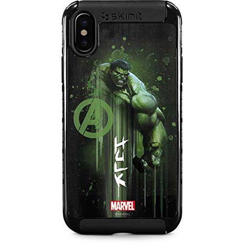 (Hulk is Ready iPhone XS Case - Marvel/Disney | Skinit Cargo Case - Rugged & Tough iPhone XS Cover)