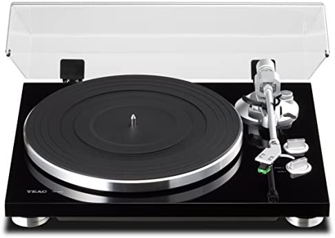TEAC TN-300 Analog Turntable with Built-in Phono Pre-amplifier USB Digital Output Black