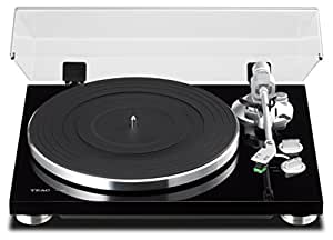 TEAC TN-300 Analog Turntable with Built-in Phono Pre-amplifier & USB Digital Output (Black)