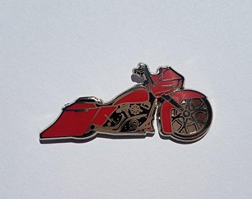 Bike Brooch Pin - Motorcycle Pin Bagger Custom Sturgis Engine Chrome Hat Pin Lapel Pin Bike Brooch Kacket Vest Tac Tie Fun Ride Biker