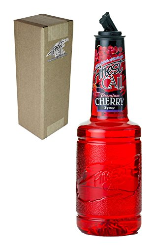 [Finest Call Premium Cherry Syrup Drink Mix, 1 Liter Bottle (33.8 Fl Oz), Individually Boxed] (Yield Sign Halloween Costume)