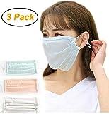 Women Girls Ice Silky Cool Flu Dust Masks, Summer