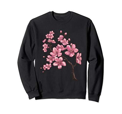 Japanese Sakura Festival Cherry Blossom Flower Sweatshirt ()