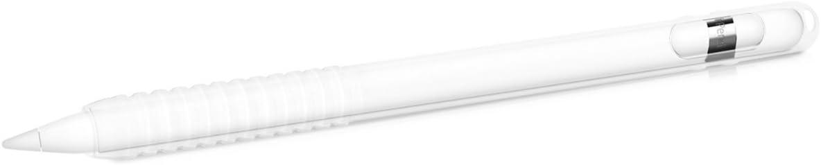 kwmobile Funda Compatible con Apple Pencil (1. Gen) - Carcasa de Silicona para lápiz de Tablet - Cover Antideslizante