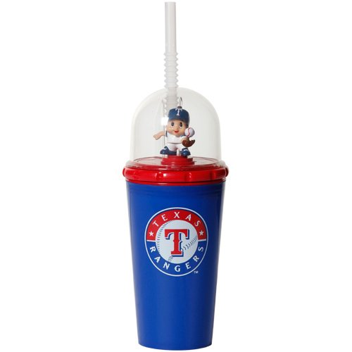 MLB 8' Wind Up Mascot Sippy Cup (Set of 2) MLB Team: Texas Rangers