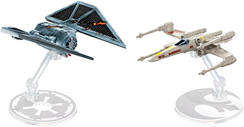 Hot Wheels Star Wars Rogue One Starships The Striker vs. X-Wing Fighter Vehicle, 2 (Star Wars Starship)