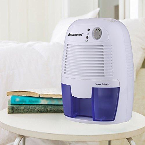Excelvan Mini Air Compact Dehumidifier Portable Dryer For Home Bedroom Closet Bathroom Kitchen
