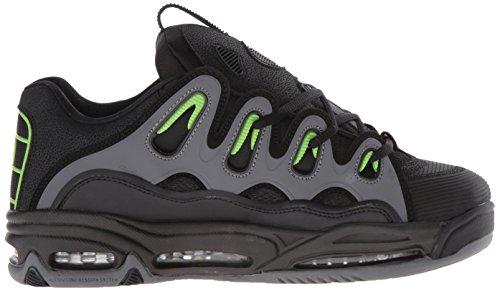 De Osiris 2001 Verde Zapatos Del D3 Negro Los Carbón Patín CwB4qttR
