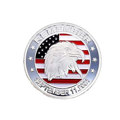 (Binglinghua 911 Hawk Head Commemorative Coin (Silver))