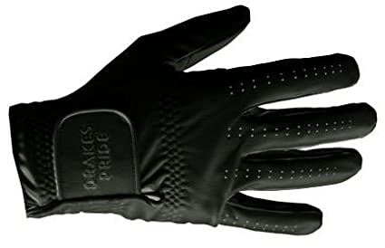 Drakes Pride Black Synthetic Bowling Glove B7347