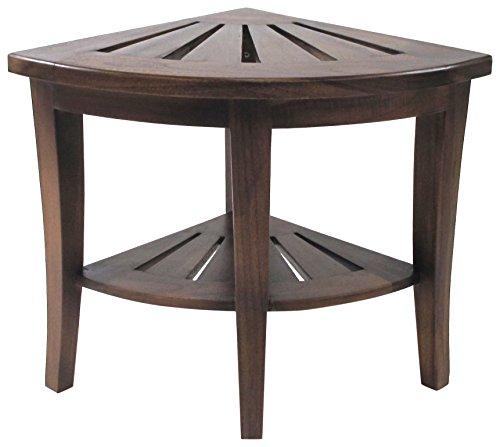 Buy redmon teak wood corner bench
