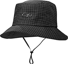 OR�s proprietary barrier that is waterproof/breathable by construction. Enjoy foggy island tours and dripping forest trails in this rain bucket. The waterproof fabric is seam taped for complete protection in wet weather. A tricot-lined crown ...
