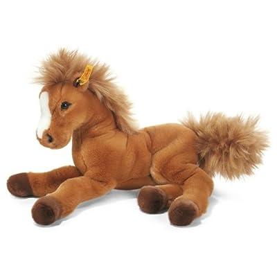 Steiff 070082 Fenny Holsteiner Plush Animal Toy, Russet: Toys & Games