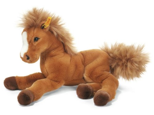 Steiff 070082 Fenny Holsteiner Plush Animal Toy, Russet
