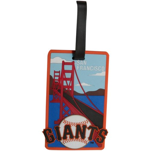 aminco San Francisco Giants - MLB Soft Luggage Bag Tag