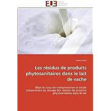 RESIDUS DE PRODUITS PHYTOSANITAIRES DANS (LES)