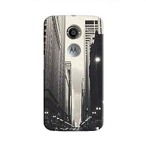 Cover It Up - City Street BW Moto X2 Hard Case