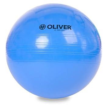 OLIVER - Pelota de gimnasia (55, 65 y 75 cm) azul azul: Amazon.es ...