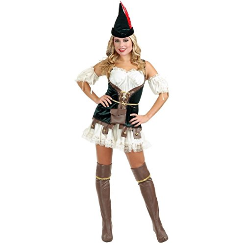 [Robin Hood Honey Costume - X-Large - Dress Size 14-16] (The Joker Masquerade Costume)