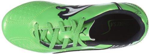 Puma v5.11 i FG Jr 102342 Unisex zapatos de los deportes fútbol infantil Verde (Grün/Fluo Green-Midnight Navy-)