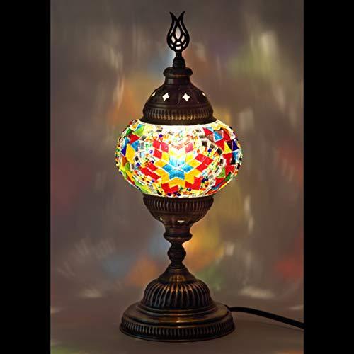 Mosaic Lamp - Handmade Turkish 4.5