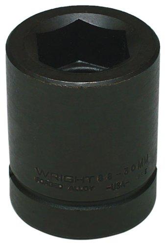 Wright Tool 88-87MM 17MM 1-Inch Drive Metric Square Budd Wheel Metric Impact Socket