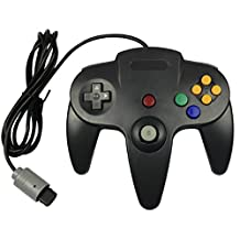 Bowink Game gaming pad console Controller For N64 (Black)