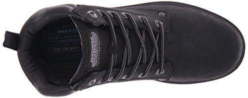 Segment Noir Uomo Nero Skechers Noir Amson Scarpe Stringate Blk dwwgvY