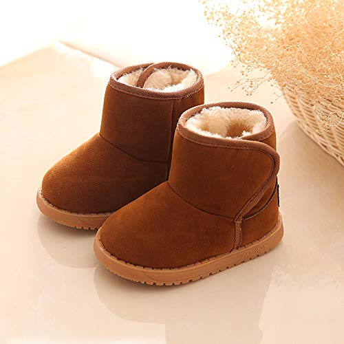 PENGYGY Baby Shoes New Fashion Cute Toddler Winter Baby Child Style Cotton Boot Boys Girls Warm Snow Boots by Pengy--Shoes (Image #2)