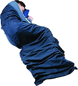 Trekmates Mummy Sleeping - Sábana para saco de dormir, color azul, talla 230: Amazon.es: Deportes y aire libre