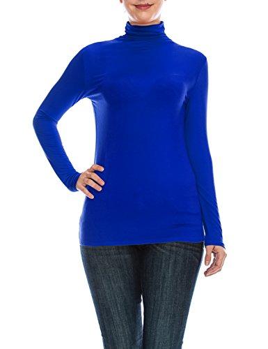 Royal Blue Long Sleeve Pullover - 2
