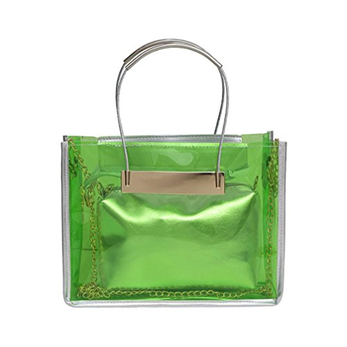 Hunpta Woman Crossed Hunpta Bag Green Crossed Green Bag wU6Sqw