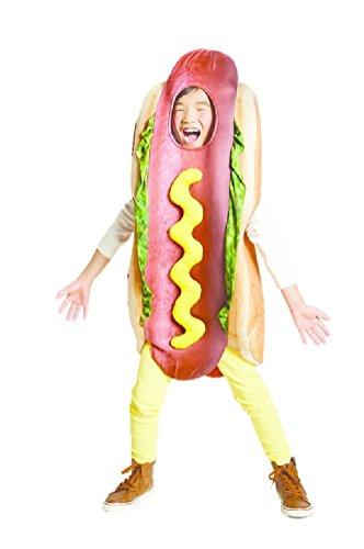 (Hyde & eek Child Kids Hot Dog Costume Dimensional Overlay Vest Size Sm 4/6)
