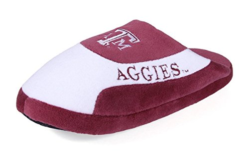 Womens LICENSED NCAA Low Happy Slippers OFFICIALLY Texas Aggies A amp;m Pro Mens College and Feet pqwtBX