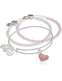 Alex and Ani Womens Love Is In The Air - Sweet Set of Three