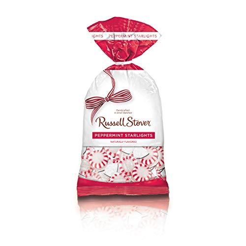 (Russell Stover Peppermint Starlights Hard Candies Bag, 12 Ounce)