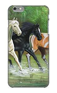 High Quality EGEHKz-2878-HtQRg Animal Horse Tpu Case For Iphone 6 Plus