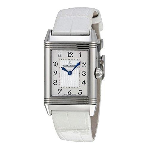 Jaeger-LeCoultre Ladies Reverso Duetto White Strap Diamond Watch 2698420