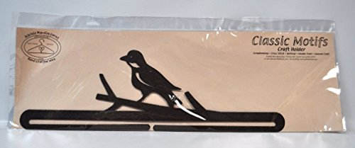Classic Motifs 18 Inch Bird On A Branch Split Bottom Craft Holder