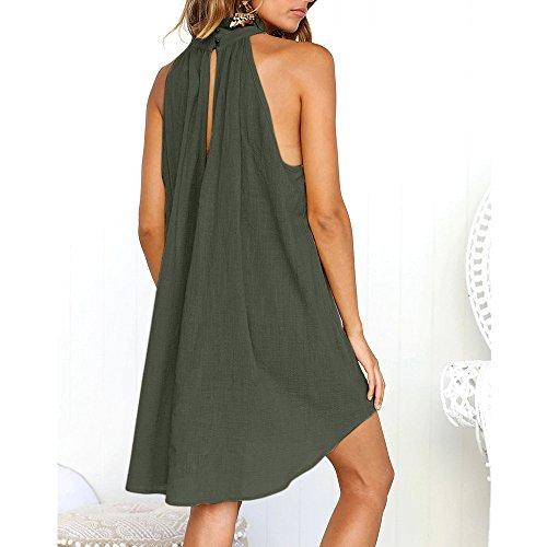 Verde Noche TM Damark de Noche Sundress B4 Playa Maxi Vestido Mujer Elegante Fiesta Vestido de Largo Playa Maxi Mujer Casual Boho Vestidos Falda Boda Mujer Verano Zqwdq4