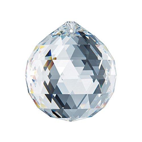 Swarovski Spectra Lead Free Feng Shui Crystal Ball, Very High Quality Crystal 50mm - 2 Inches Made in Austria with Certificate
