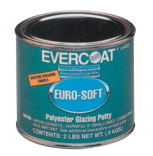 Evercoat Fibreglass 408 Euro-Soft Glazing Putty - 20 oz. Can