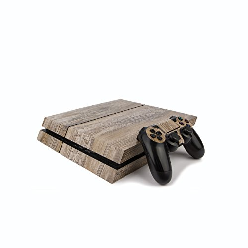 - Premium PS4 PlayStation 4 Wood Effect Vinyl Wrap/Skin/Cover for PS4 Console and PS4 Controllers: Rustic