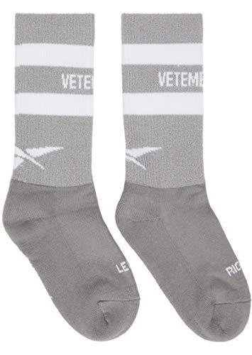 Vetements Grey 3M Reflecitve Composition Streetwear Sport Cotton Sexual Fantasies Socks (Sport Vetement)